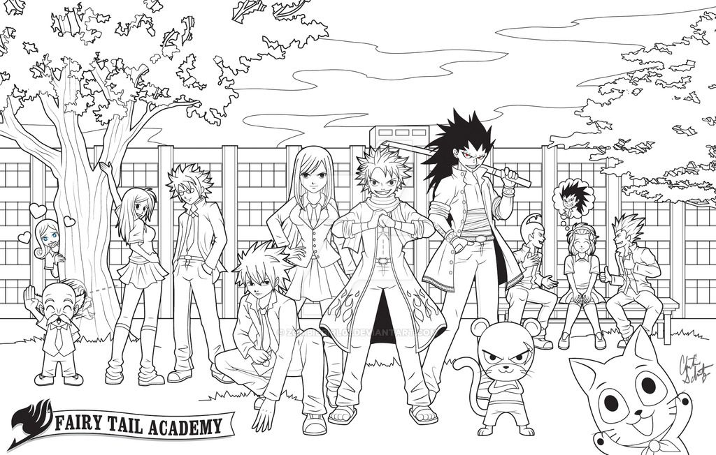 fairy tail anime chibi coloring pages - Google Search | Drawing ...