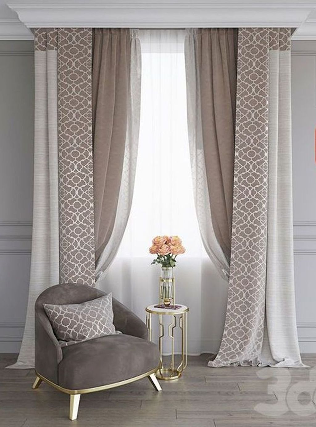 Attractive Trendy Design Curtains Can Change Your Resid