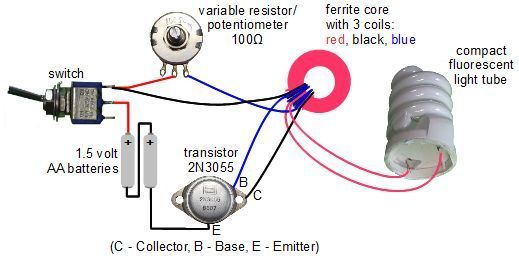 Circuit diagram for jeannas light variation of joule thief circuit diagram for jeannas light variation of joule thief circuit ccuart Image collections
