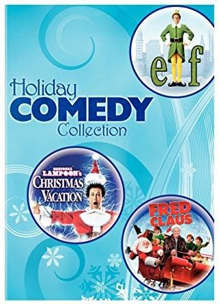 will ferrell chevy chase holiday comedy collection elf national lampoon s christmas