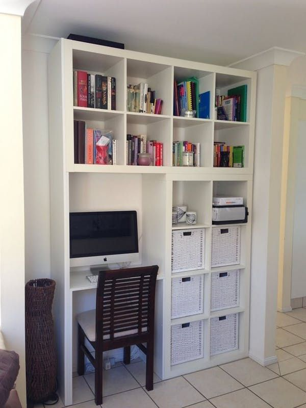 15 Super Smart Ways To Use The Ikea Kallax Bookcase | Schlafzimmer