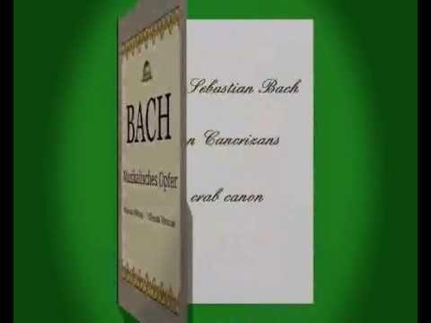 Canone 1 a 2 dell' Offerta musicale di J. S. Bach - Evoluzione Reversibile
