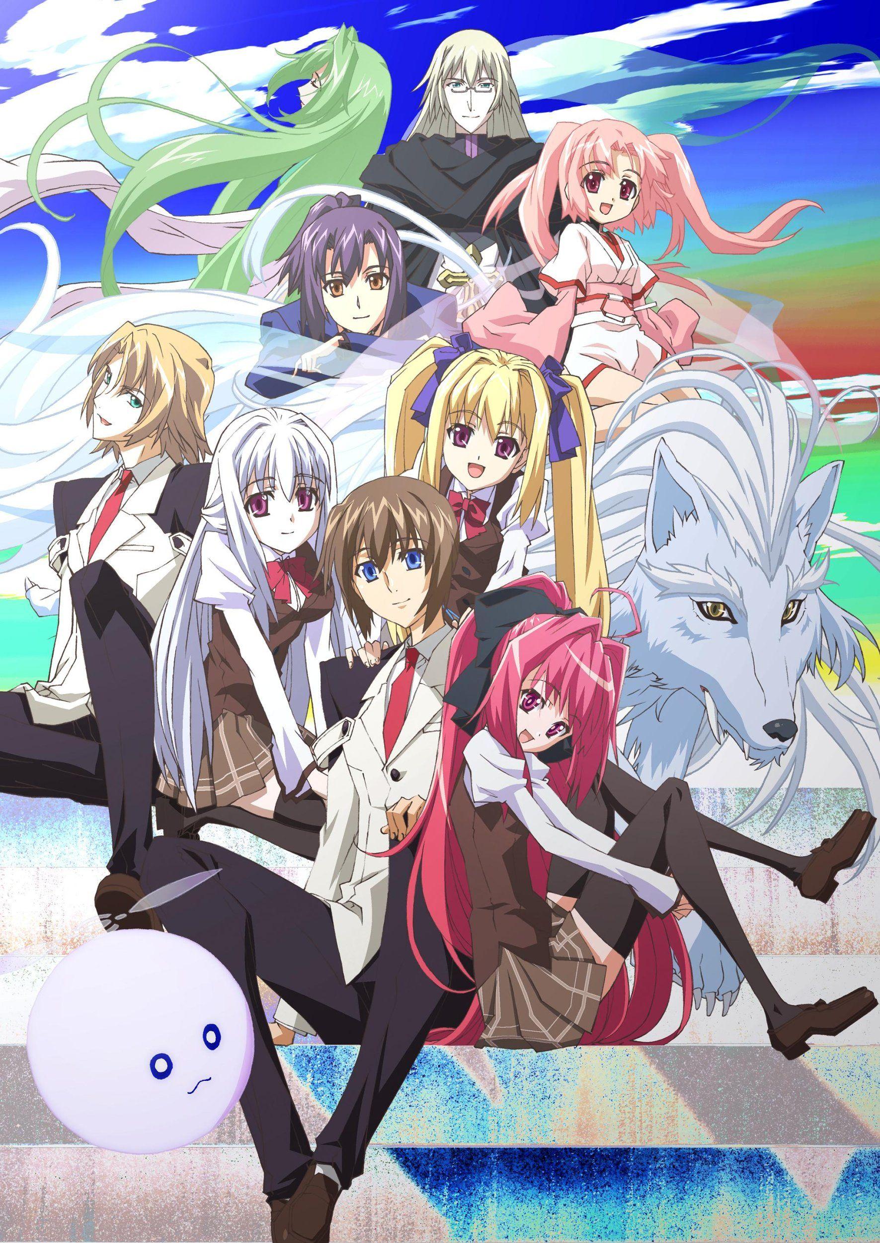 Shinkyoku Soukai Polyphonica Crimson S Anime Best Anime List