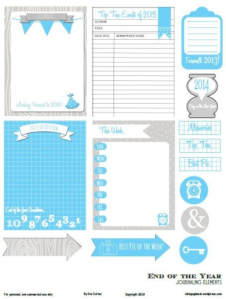New-year-journaling-elements-preview