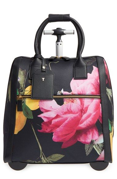e2dd1ceca Free shipping and returns on Ted Baker London  Citrus Bloom - Katena  Travel  Bag at Nordstrom.com. With its gorgeous fruit-and-floral print and goldtone  ...
