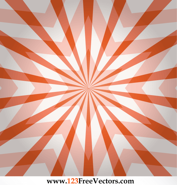 Star Illusion Vector Free Download