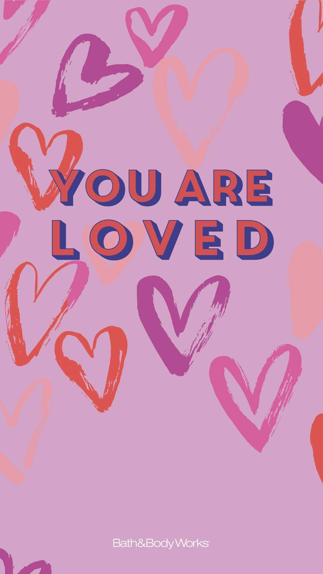 Valentine S Day Phone Background Words Wallpaper Cool Wallpapers For Phones Bath And Body Works