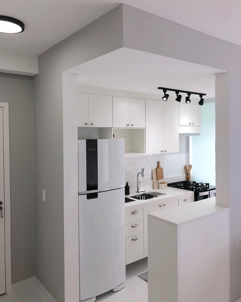Nearly All Businesses Comprehend The Importance Of Keeping A Social Networking Presence But Small Apartment Kitchen Kitchen Design Small Kitchen Remodel Small