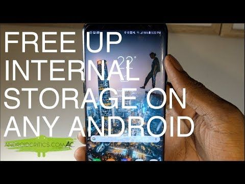 How To Free Up/Increase Internal Storage Space On Any