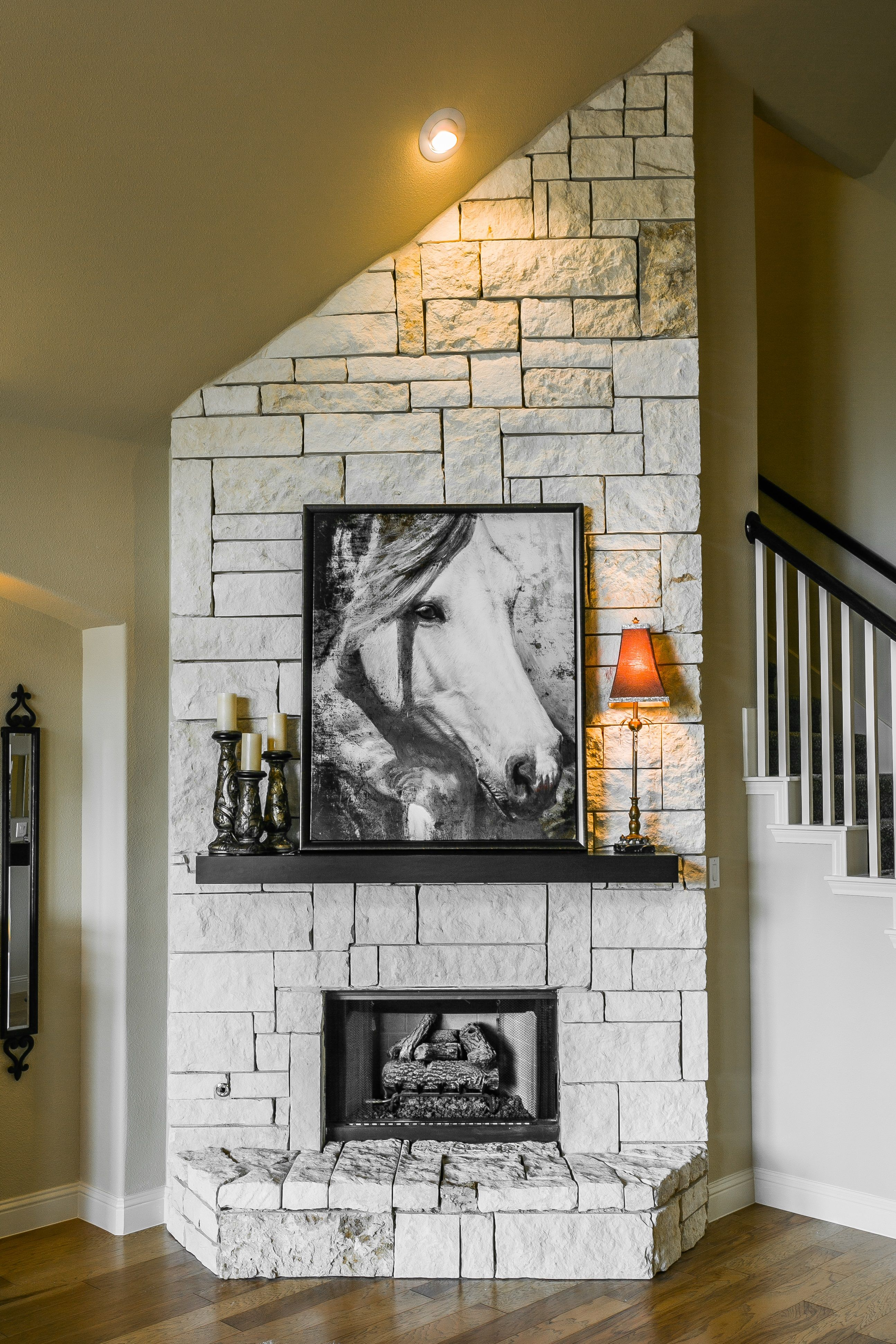 gehan homes princeton fireplace light grey stone fireplace with