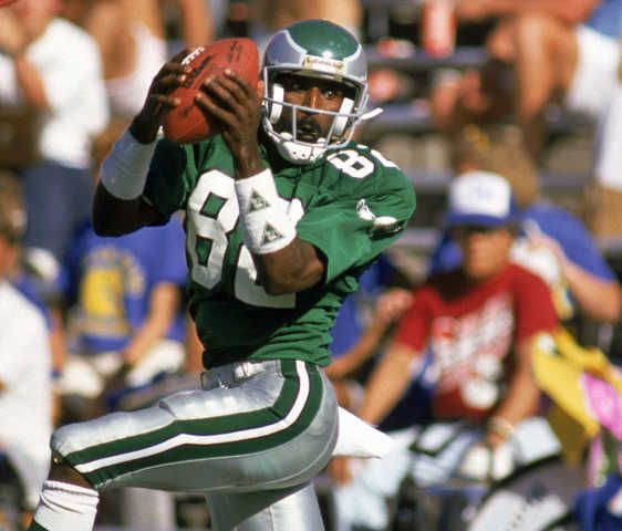 8e4a3a89aaa Mike Quick. Such great hands! -- He's why I became an Eagles fan ...