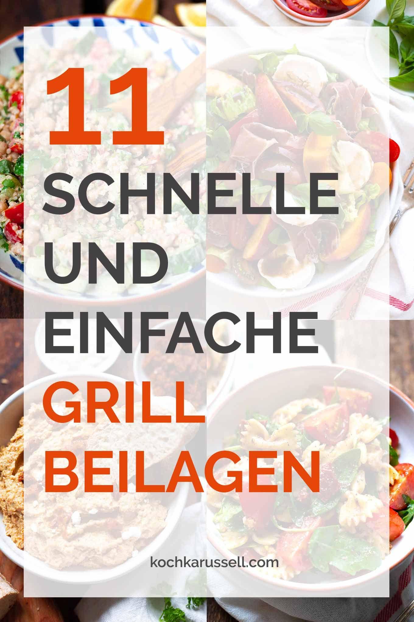 Photo of 11 schnelle und einfache Grillbeilagen – Kochkarussell