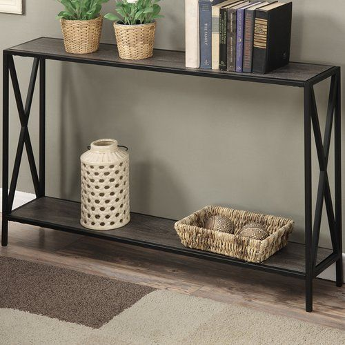 Abbottsmoor Metal Frame Console Table Metal Console Table