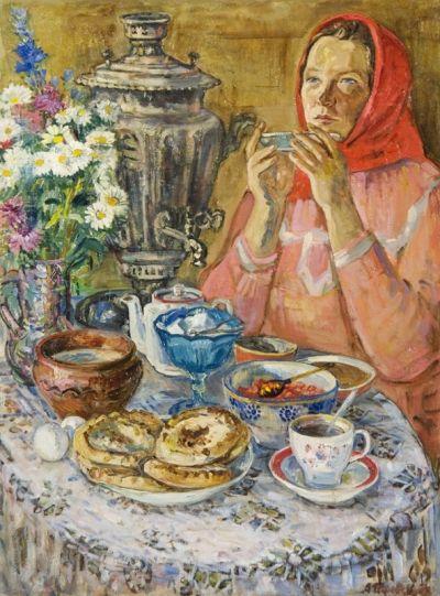 Pereverseva, Alla K.- at the Thomas  Kerns McCarthey Gallery
