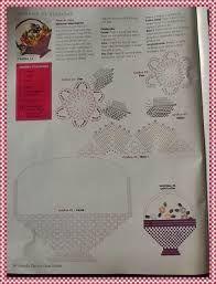Resultado de imagen para grafico de bico de croche com canto