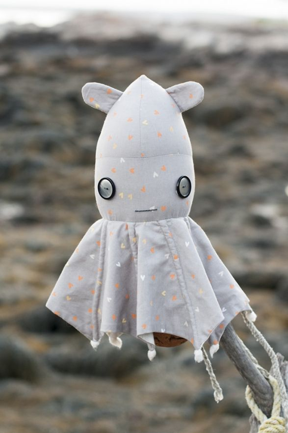 Vera Vampire Squid PDF Sewing Pattern | Lucy Blaire | Gettin\' Crafty ...
