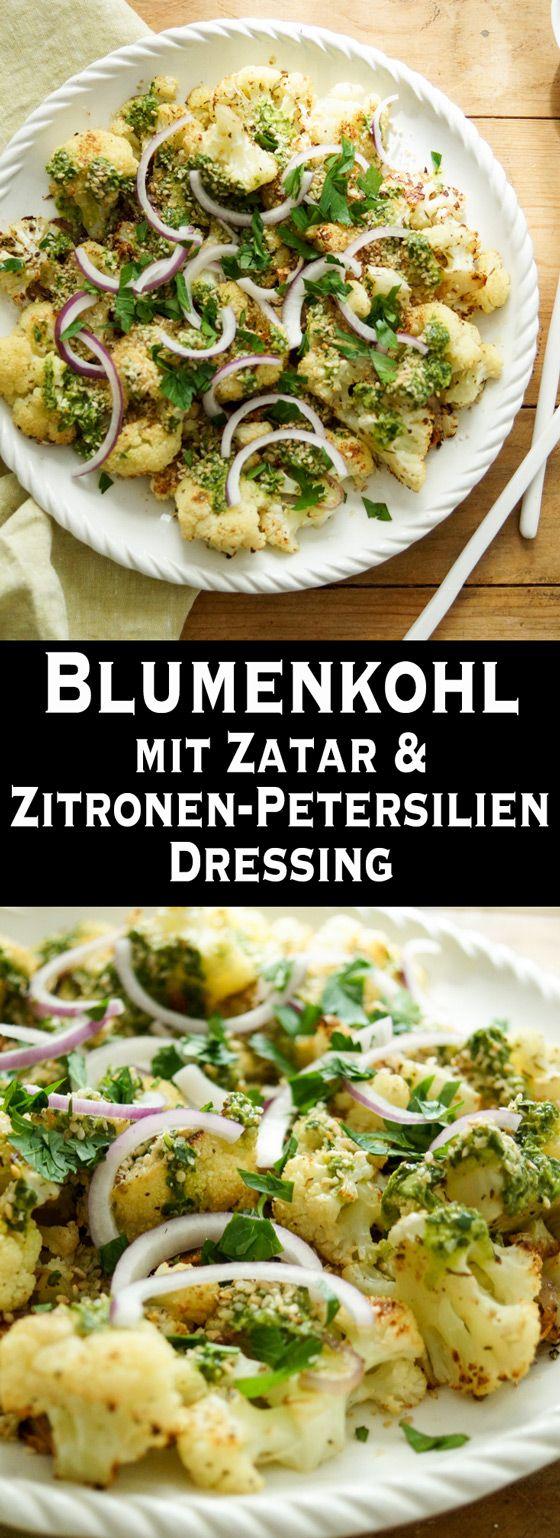 Gerösteter Blumenkohl mit Zatar   Rezept   Elle Republic   Rezept ...