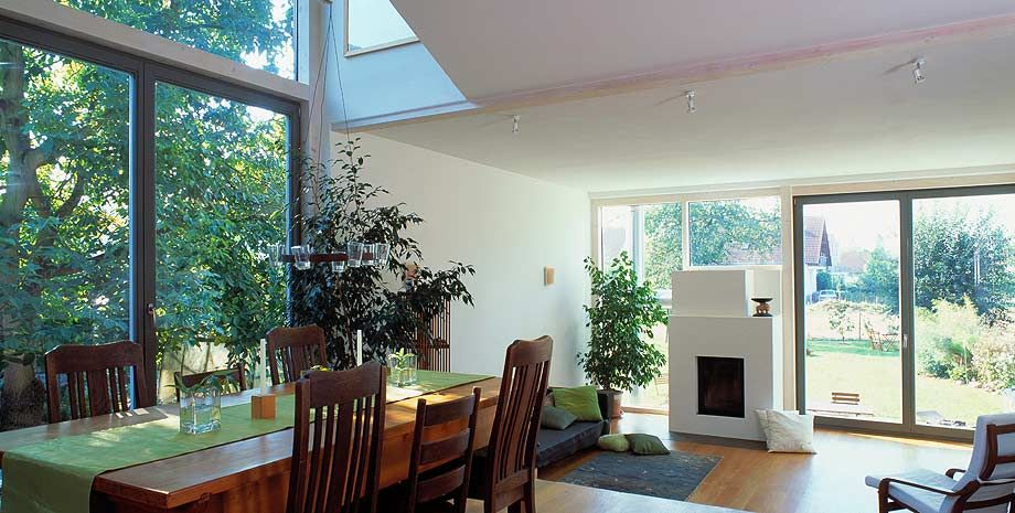 Baufritz holzhaus m ller wohnzimmer baufritz holzhaus for Hausformen einfamilienhaus