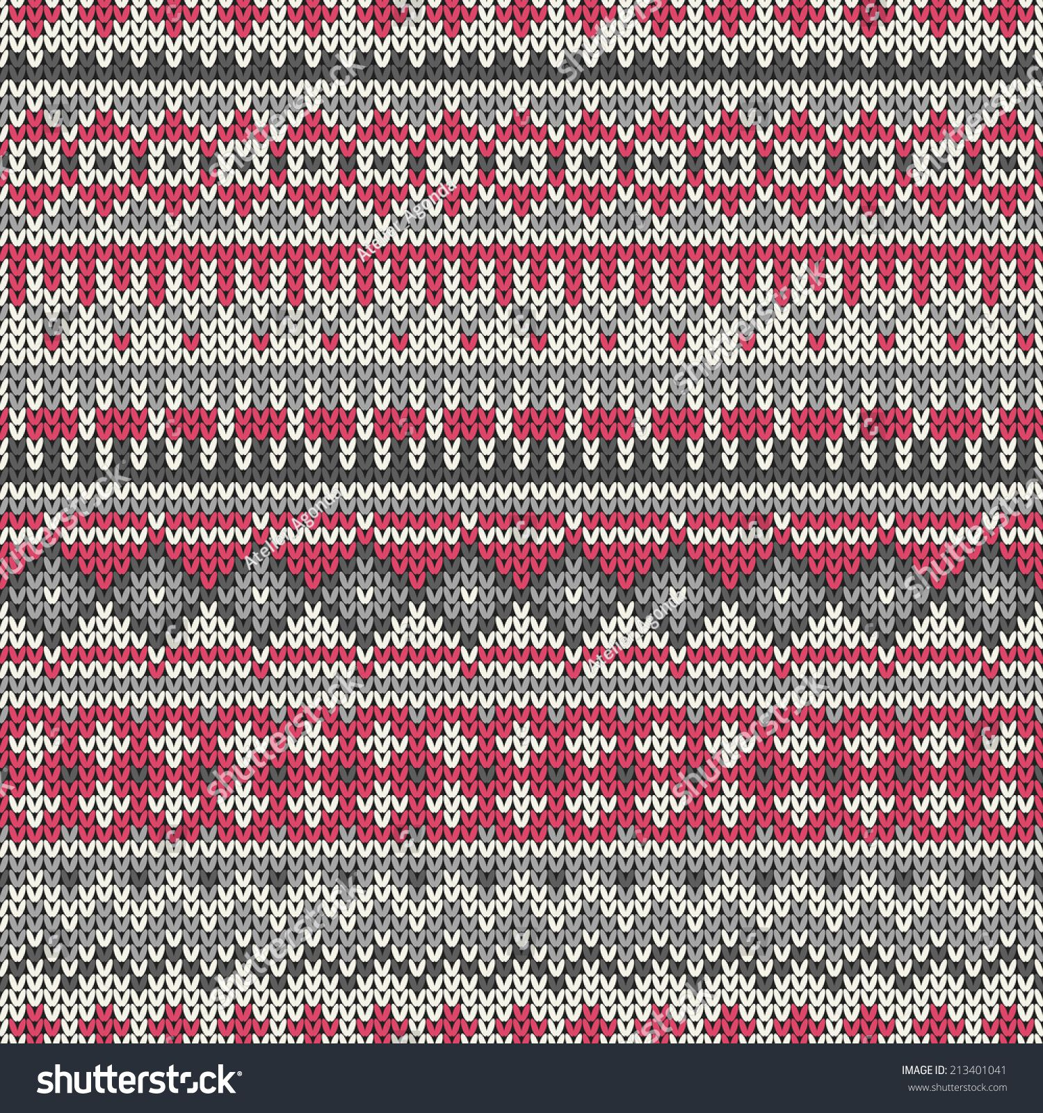 Seamless knitted geometric pattern in traditional fair isle style seamless knitted geometric pattern in traditional fair isle style vector illustration bankloansurffo Choice Image