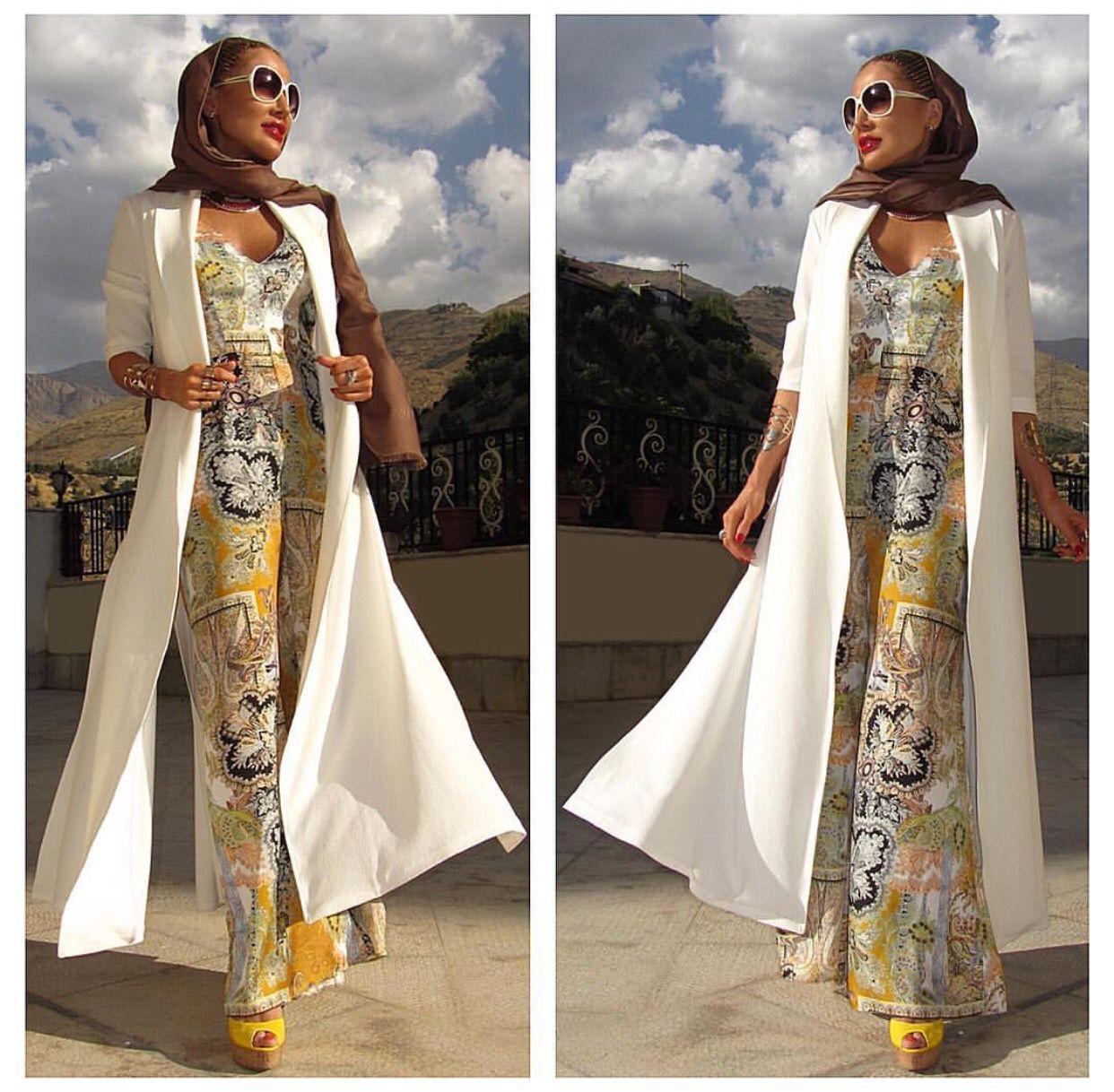 Fashion: Iranian Fashion # Iranian Style # Iran-tehran Fashion