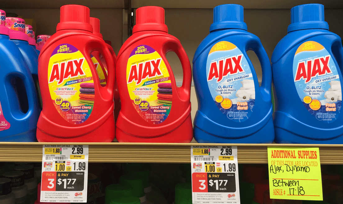 Ajax Final Touch Laundry Care Products Just 0 77 At Shoprite Shoprite Ajax Ajax Laundry Detergent