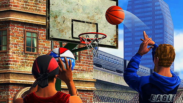 تحميل لعبة basketball