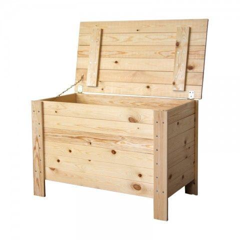 bygga förvaringslåda trä