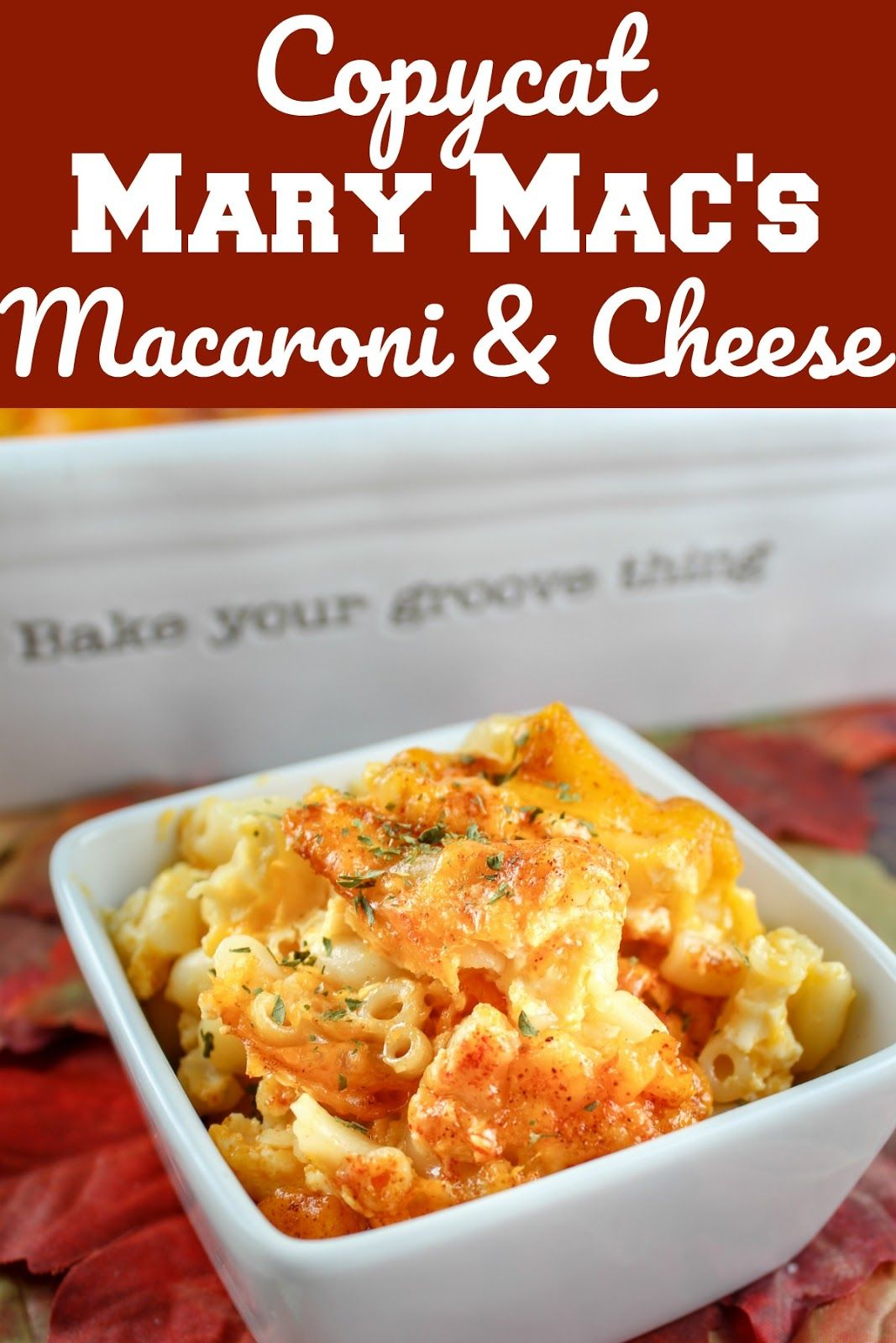 Copycat mary macs baked macaroni and cheese the food