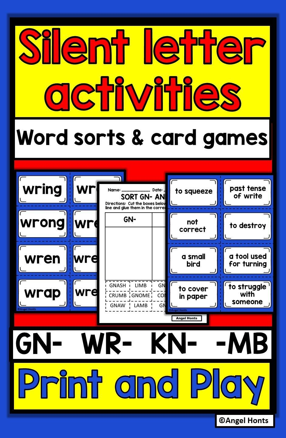 Pin on Elementary Literacy Games