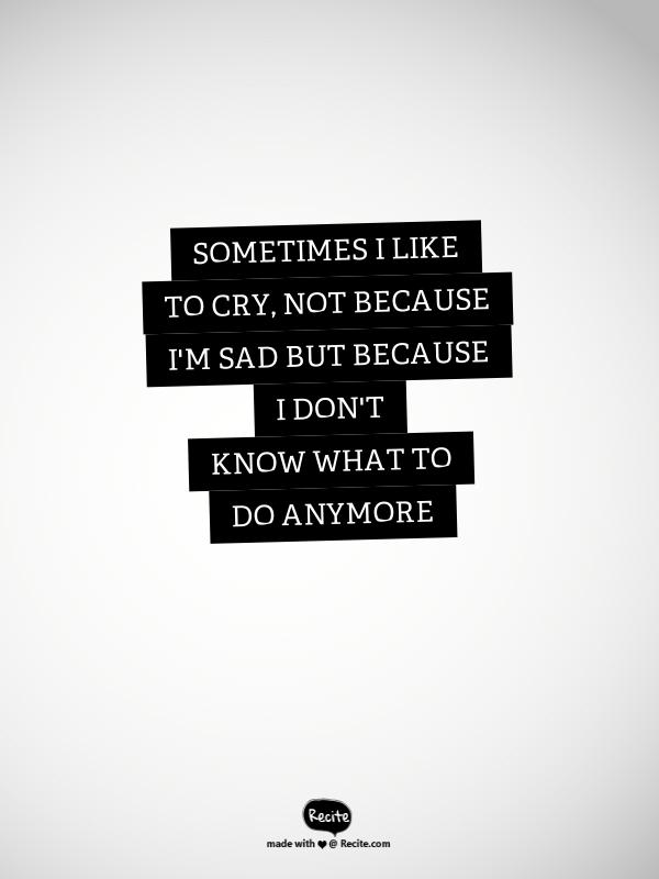 I can't do my homework because i'm depressed