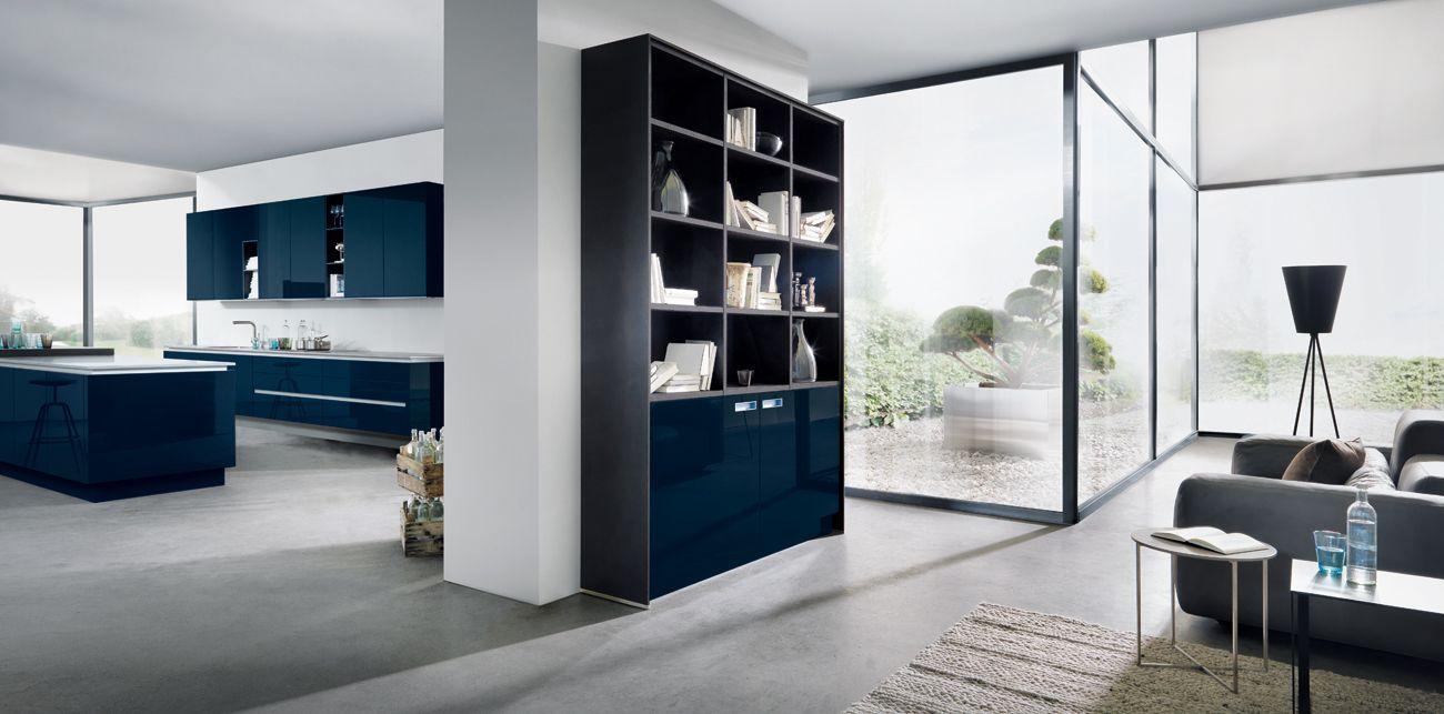 Küchenschränke blau premiumkuechenxlwohnenzoom  blue  green interior