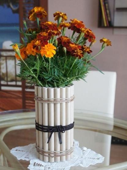 Diy And Plastic Diy Flower Vase Out Of Plastic Bottles Home