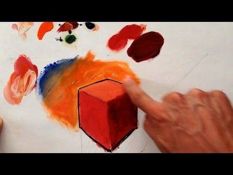El Color Como Dar Luces Y Sombras Oleo Sirve Para Digital Luz Y Sombra Luz Y Sombra Dibujo Clases De Pintura Al óleo