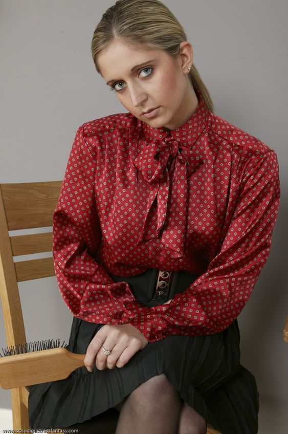 A Virtuous Christian Governess Ready To Spank A Very -6691