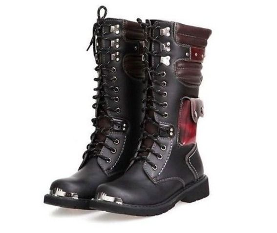 Punk Gothic Rock Band Gorgeous Confortable Resistent Boots