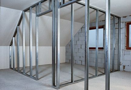 Installing drywall partition, how to drywall partition
