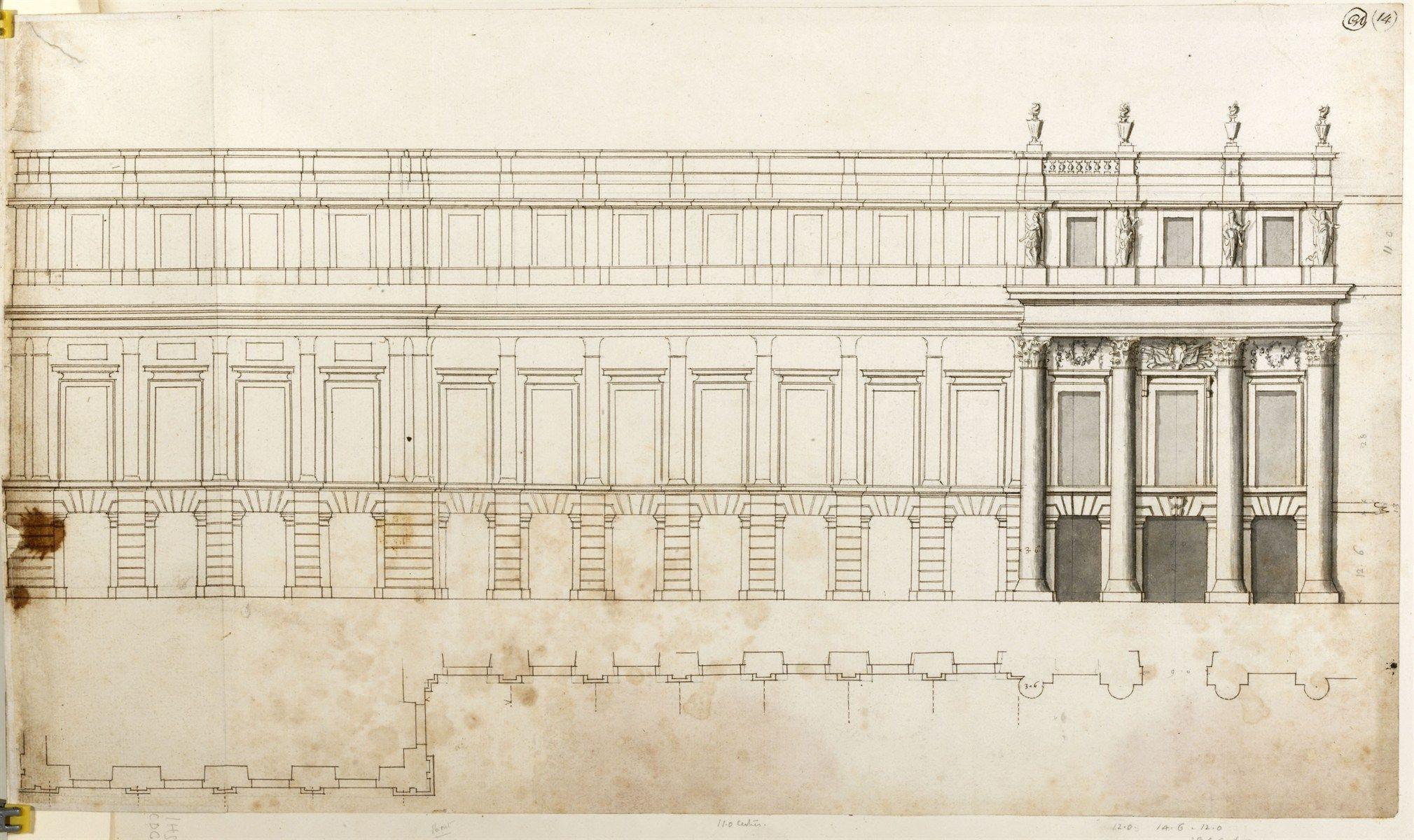 Wren, Hawksmoor, Hampton Court Palace