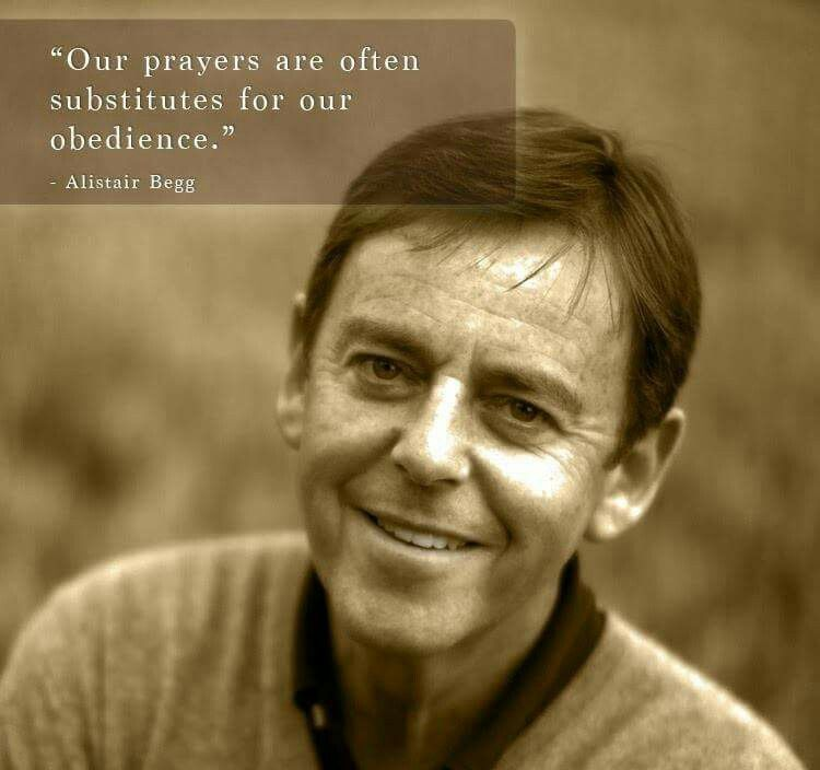 christian quote | biblical | Alistair Begg | credit: Inner Voice Ministries - Christian Truth and Aplologetics