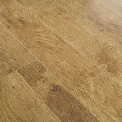 Series Elite 10mm Harvest Oak V Groove Laminate Flooring Series
