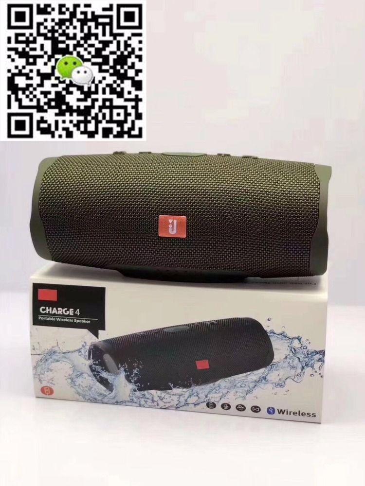 Jbl Charge 4 Portable Waterproof Wireless Bluetooth Speaker Army Green Jbl Wireless Speakers Bluetooth Bluetooth Speaker