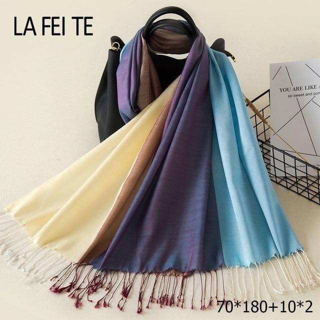 Cotton Scarf Women 2018 Kerchief Foulard Femme Neckerchief Beach Head Hair  Hijab Shawl Stole Long Viscose Women Scarf For Ladies cd676d4de72