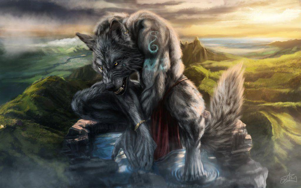 Werewolf Concept By Dreamingwanderer Deviantart Com On Deviantart