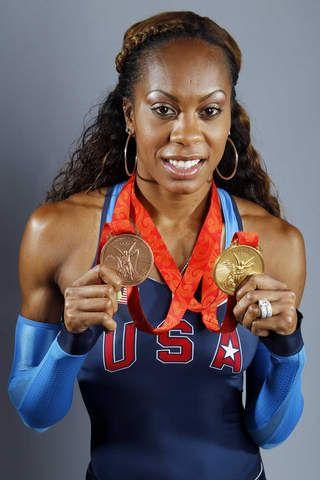Sanya Richards Ross Olympic Gold Medalist 2012 Her