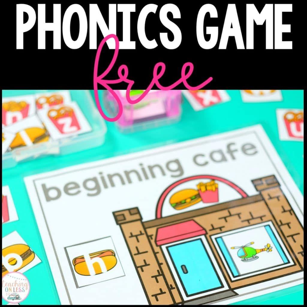 Top 5 Phonics Games for Beginning Sounds Phonics games
