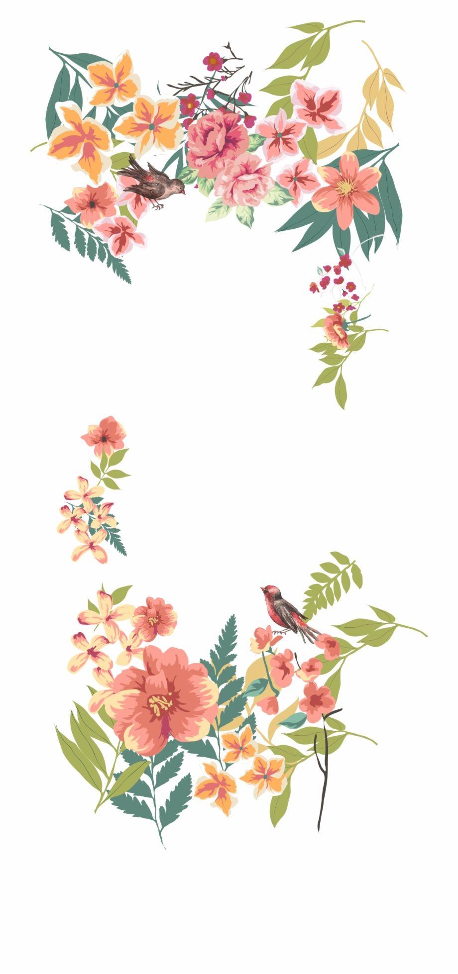Flower Euclidean Vector Floral Design Free Vintage Vector Flowers Png Is A Free Transparent Png Image Vector Flowers Floral Design Drawing Flower Frame Png