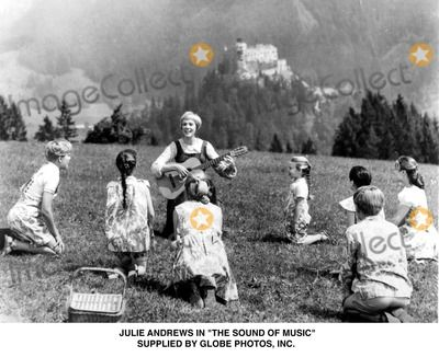 "Photos and Pictures - Julie Andrews in ""the Sound of Music"" Supplied by Globe Photos, Inc."