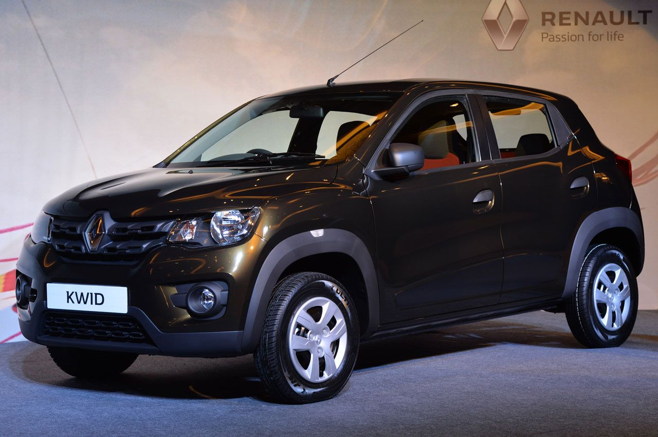 The attractive renault kwid entry level hatchback has just made its global debut in india