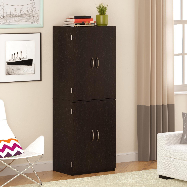 Ameriwood 4 Door Storage Cabinet With Drawer