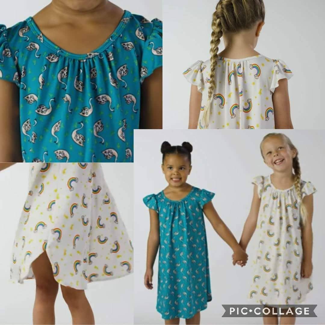 Dotdotsmile allyson correia dot dot smile swing dress