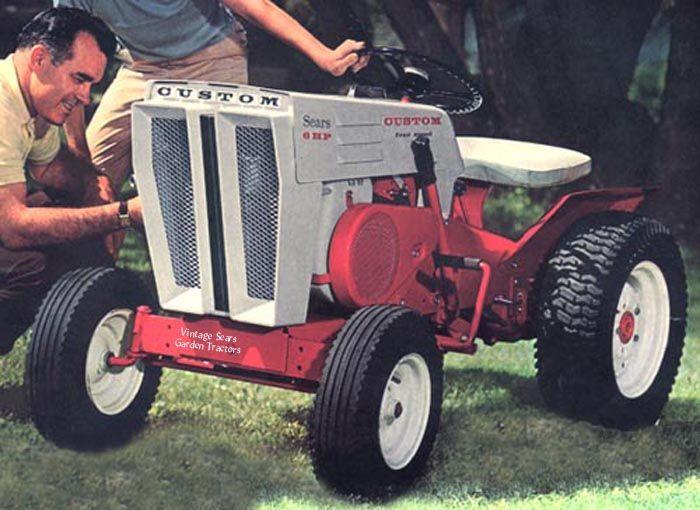 Sears Craftsman Motorcycle : Sears custom tractor